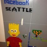 Facebook Lego Wall